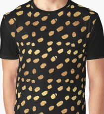 Gold Sparks Graphic T-Shirt