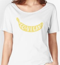 Go vegan Women's Relaxed Fit T-Shirt