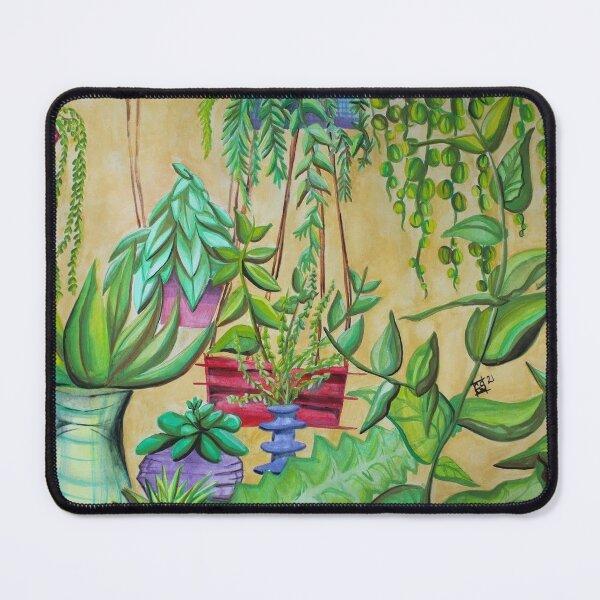 Succulent Garden Mouse Pad