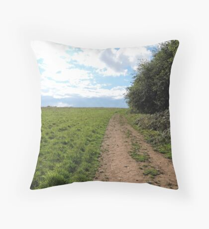 I Am Discovery Throw Pillow