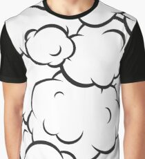 Pop art clouds pattern Graphic T-Shirt
