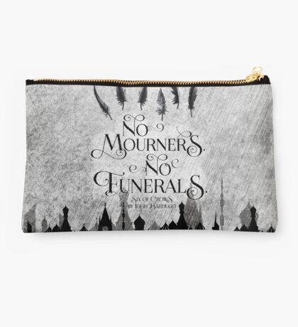 No Mourners No Funerals Studio Pouch