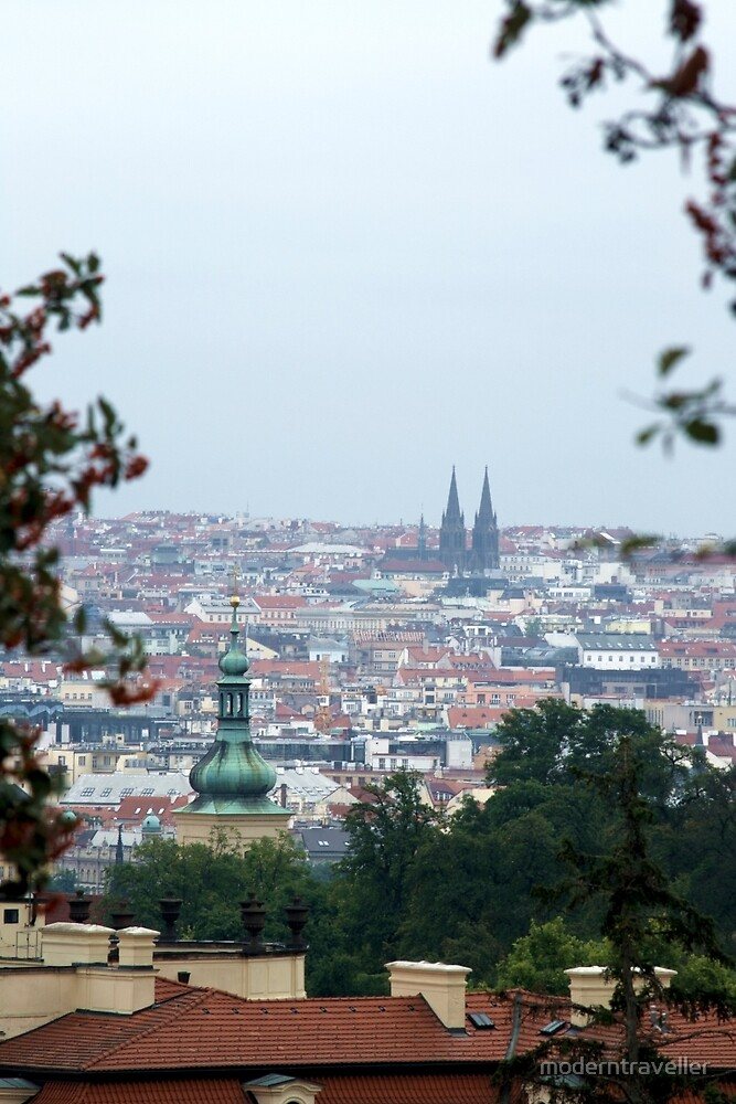 Prague cityscape, Czech Republic by moderntraveller