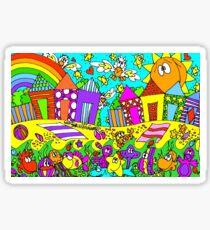 Boatsheds - Bright Sticker