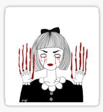 bloody Sticker