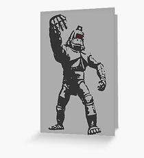 Mechani - Kong Greeting Card