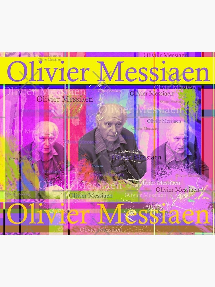 Olivier Messiaen Porträt von Mauswohn