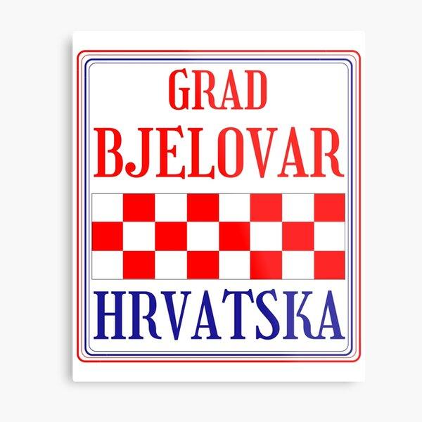 Croatian City of Bjelovar Metal Print