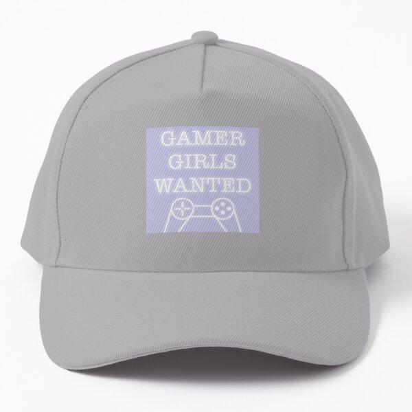 Gamer Girls Wanted-Zeichen Baseball Cap