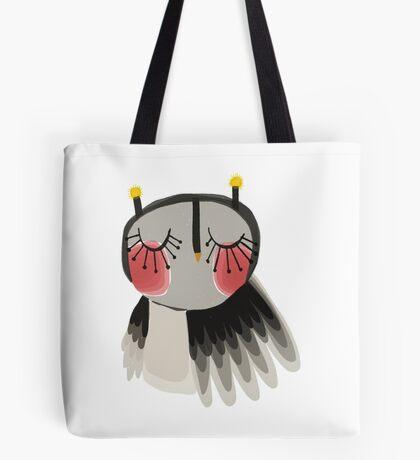 Rosy cheeks owl Tote Bag