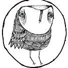Librarian owl by annieclayton