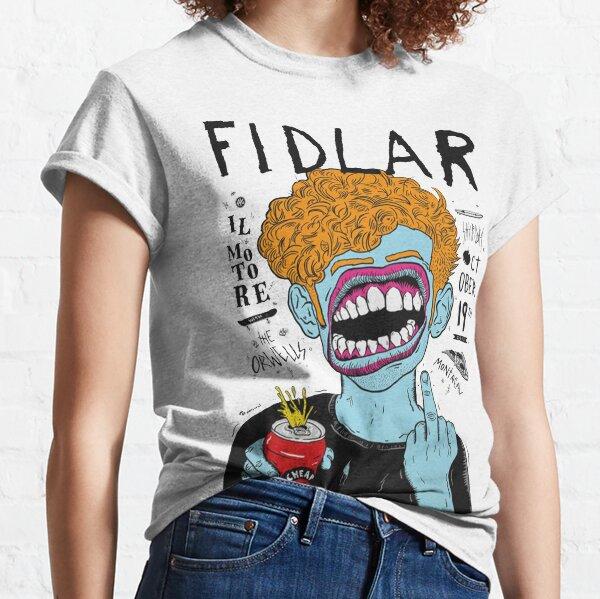 fidlar band rock  fidlar fidlar fidlar fidlar fidlar fidlar fidlar grennday dead kennedys nofx Classic T-Shirt