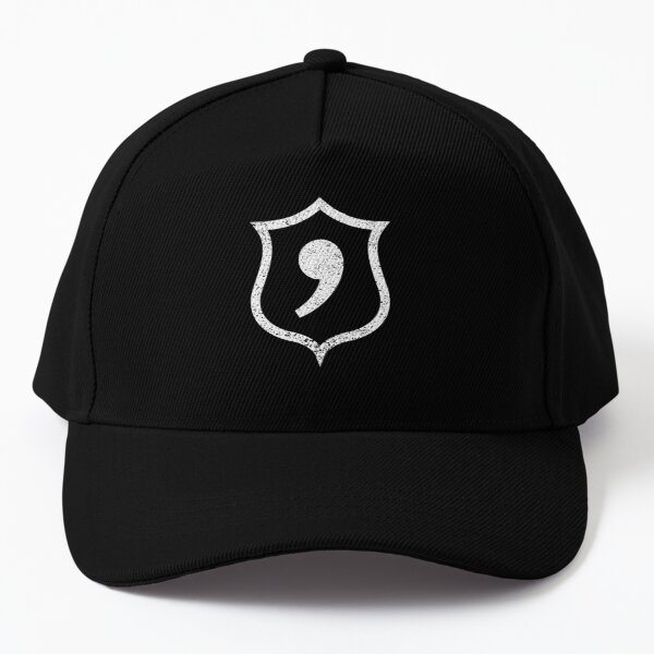 Apostrophe Police Badge Baseball Cap