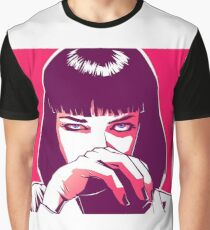 Pulp Fiction - Mia Wallace Graphic T-Shirt