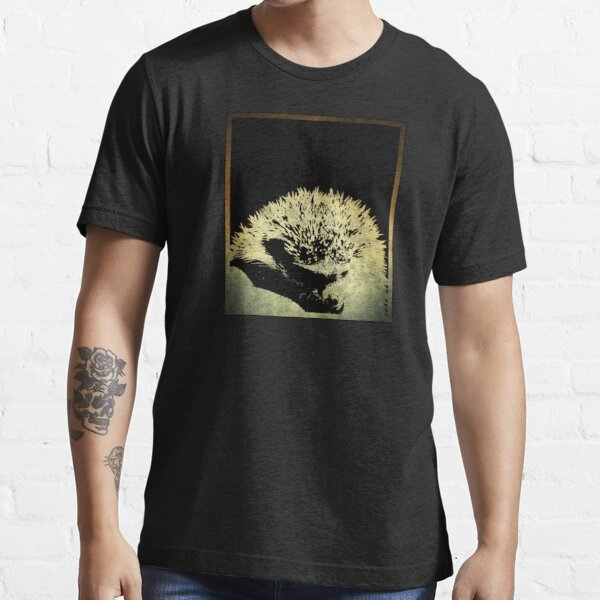 IGEL in a rectangle // Ink Design // Gold Essential T-Shirt