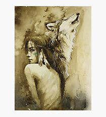 She Wolf Photographic Print
