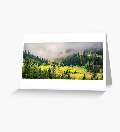Sunny Valley Greeting Card