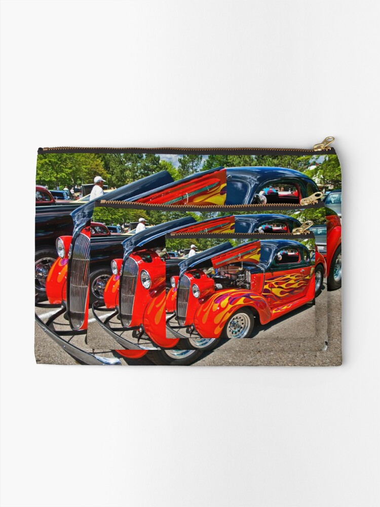 Alternate view of Flame On Zipper Pouch