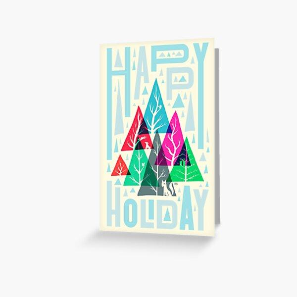 Tree Gathering (day) Greeting Card