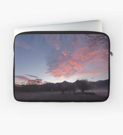 Frosty morning, KInloch on Lake Wakatipu, NZ Laptop Sleeve