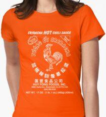 Sriracha Hot Chili Sauce Womens Fitted T-Shirt