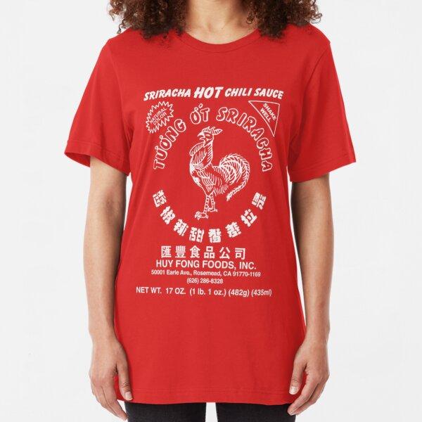 Sriracha Hot Chili Sauce Slim Fit T-Shirt