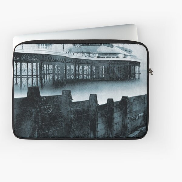 Cromer Pier and Groyne, Norfolk Laptop Sleeve