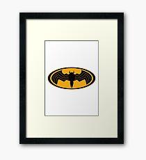 Gotham Lethal Protector Framed Print