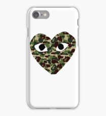 Bape heat iPhone Case/Skin