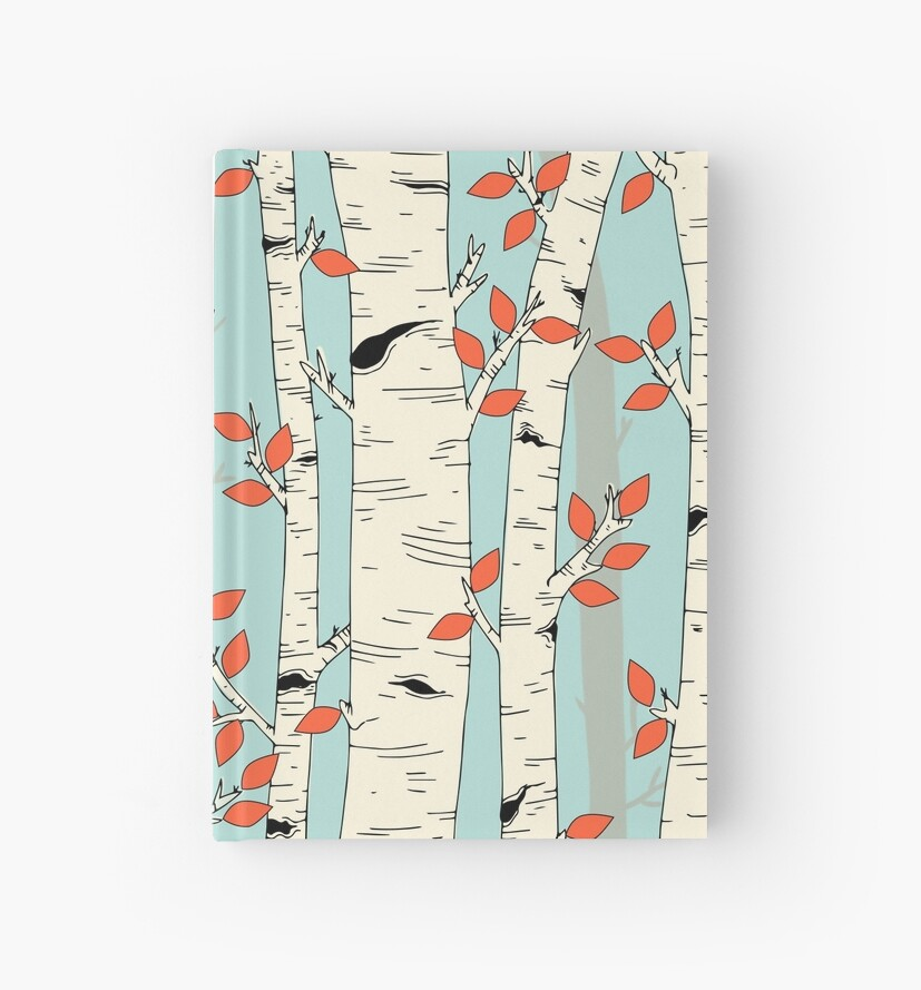 In the Birch Trees by littleknids