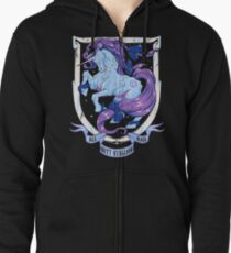 Diamond Monarch Zipped Hoodie