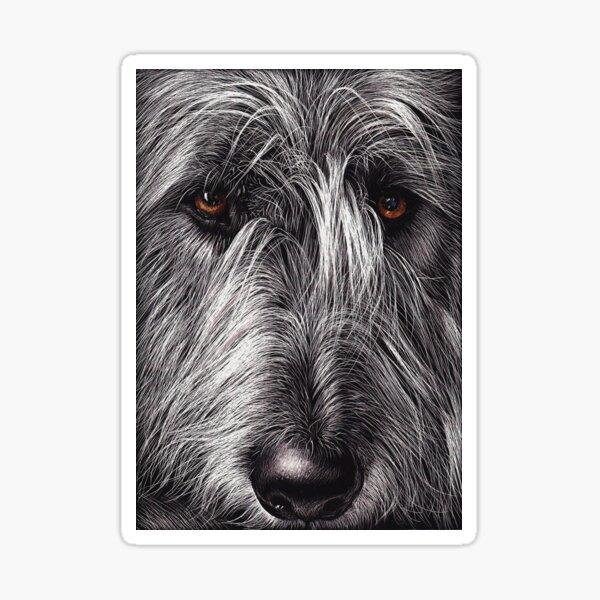 Wolfhound Sticker
