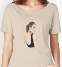 Model Women's Relaxed Fit T-Shirt