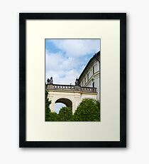 Palatial arches in Prague Framed Print