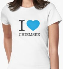 I ♥ CHIEMSEE Womens Fitted T-Shirt