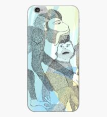 Dance with the monkeys iPhone Case