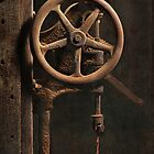 """"""" 1920's Drill Press """" by Malcolm Heberle"""