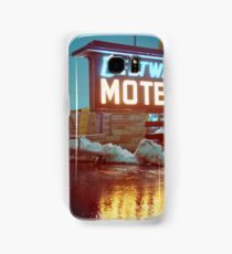 Evening at the Beltway Motel Samsung Galaxy Case/Skin