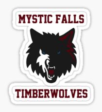 Mystic falls Sticker