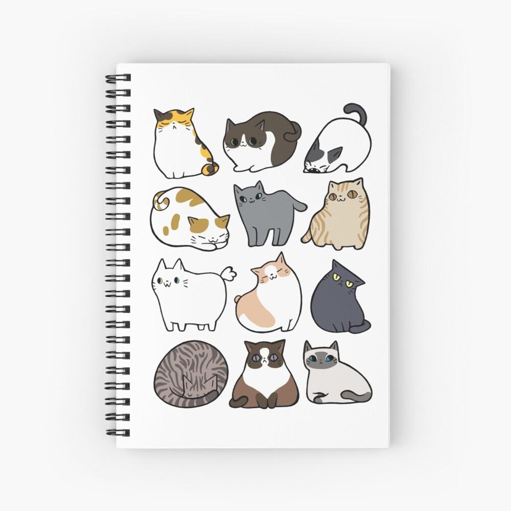 Katzen Katzen Katzen Spiralblock