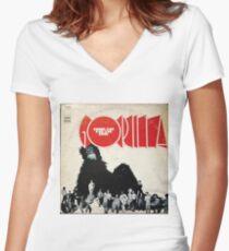 Bonzo Dog Doo Dah Band Gorilla Women's Fitted V-Neck T-Shirt