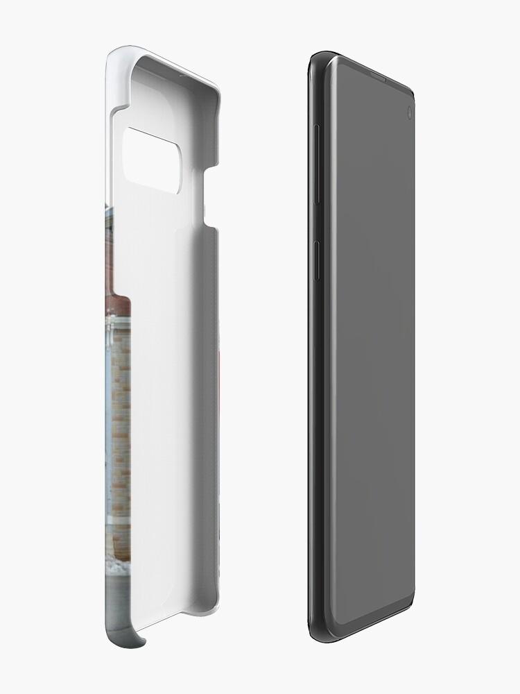 Vista alternativa de Funda y vinilo para Samsung Galaxy Rowhomes in Baltimore