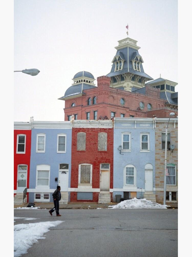 Rowhomes in Baltimore de DanielRegner