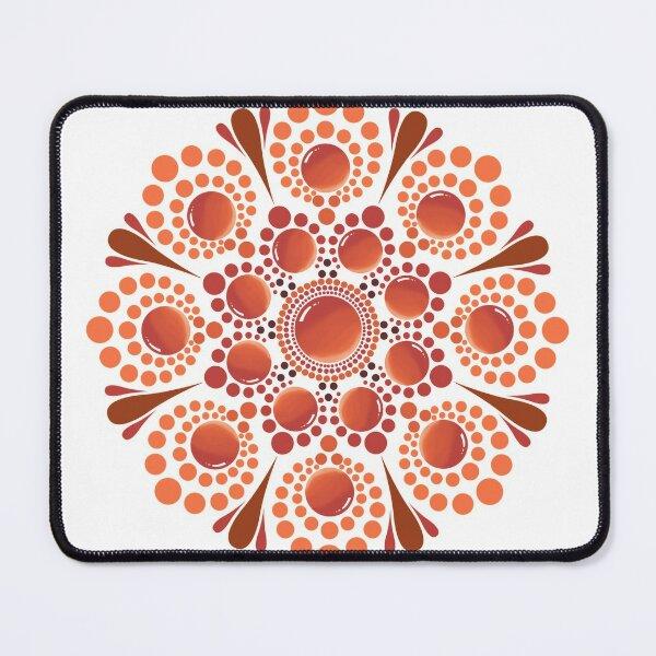 Gem Dot Mandala Mouse Pad
