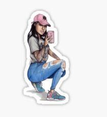 NMD Girl Sticker