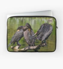 Three Cormorants  Laptop Sleeve
