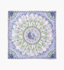 Blue Floral Chorus - Kaleidoscope Scarf