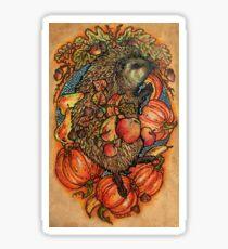 Autumn allegory Sticker