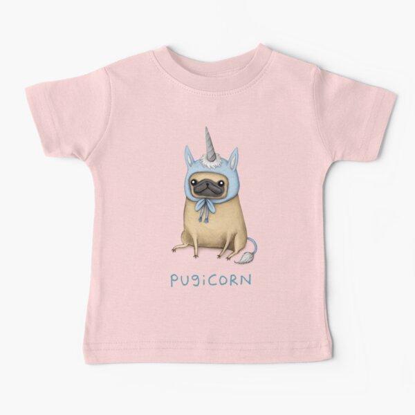 Pugicorn - Fawn Baby T-Shirt