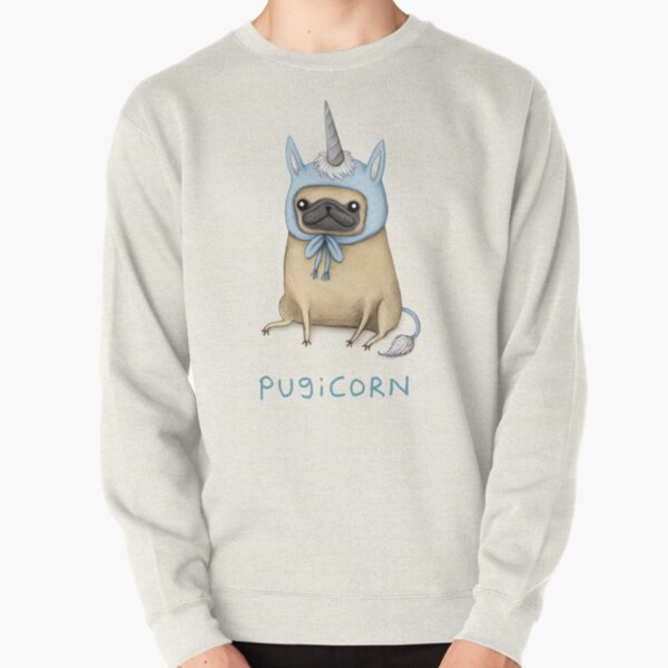 Pugicorn - Fawn Pullover Sweatshirt